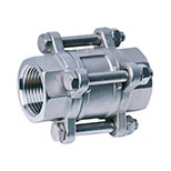 3-PC WAFER DISC CHECK VALVE
